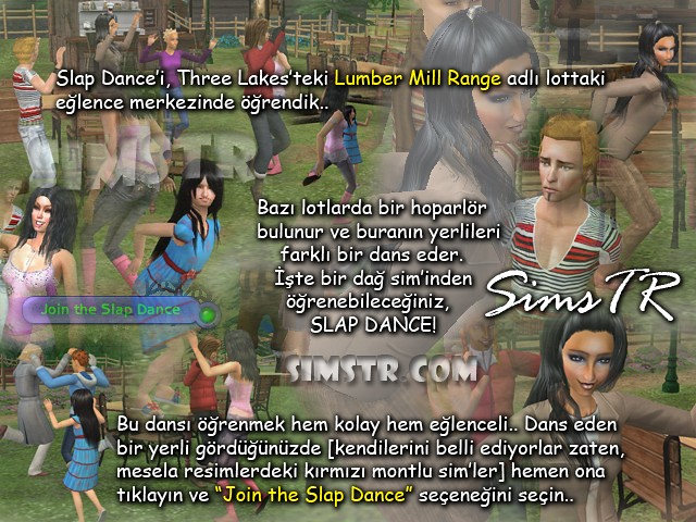 The Sims 2 Bon Voyage Slap Dance
