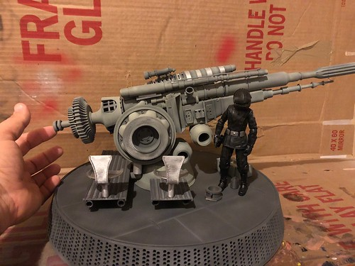 6 inch version of the Death Star Gunner Station | by i_melendez45