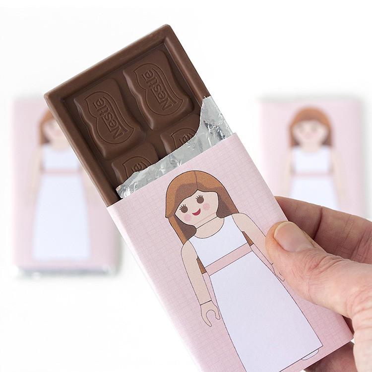 chocolatina para primera comunión