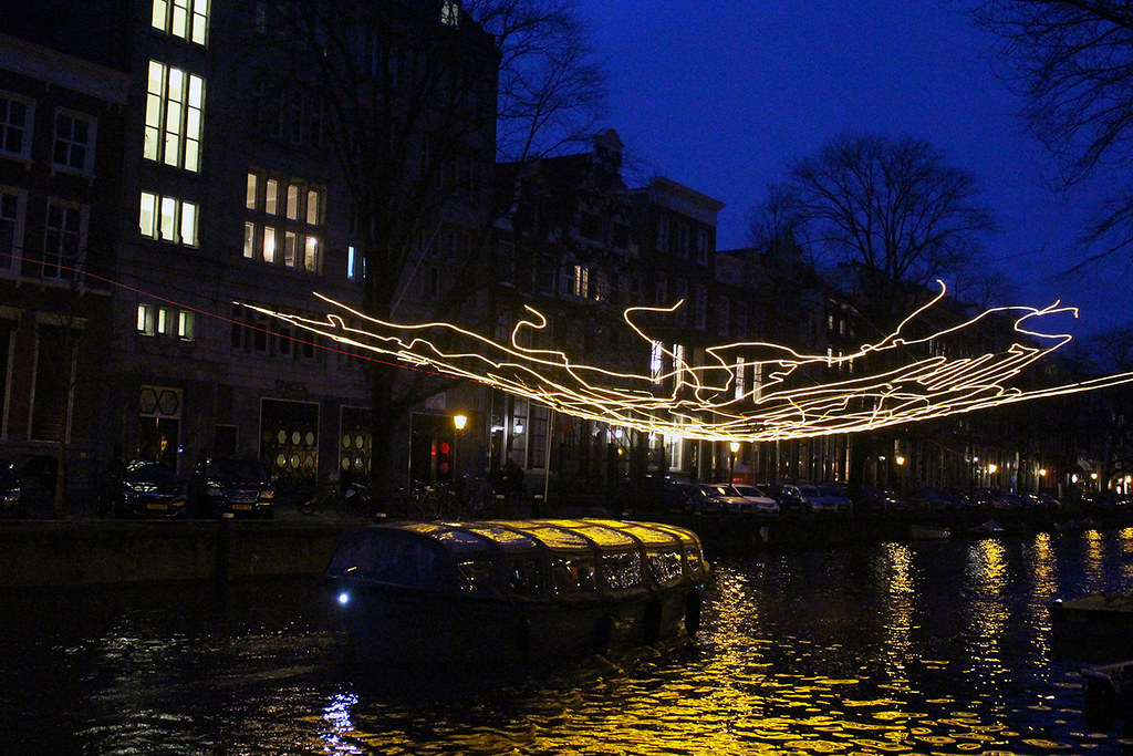 In photos: Amsterdam Light Festival 2018