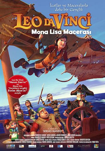 Leo da Vinci: Mona Lisa Macerası - Leo da Vinci: Mission Mona Lisa (2018)