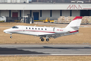 PH-RLG Cessna 680 Citation Sovereign, Maastricht Aachen Airport - EHBK/MST | by neplev1