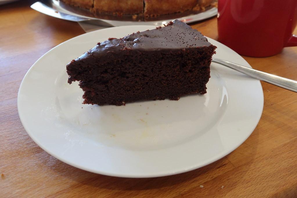 Schoko Cola Kuchen Mit Fleur De Sel Mein Stück Gourmandise Flickr