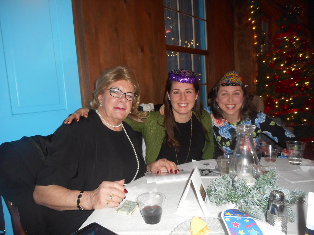 At Amish Acres On New Years Eve We Met These Girls Who Were Driving From