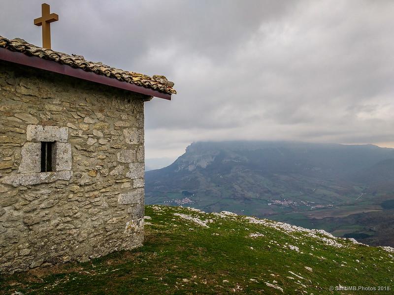 Sierra de San Donato desde la emita de San Adrián de Lizarraga