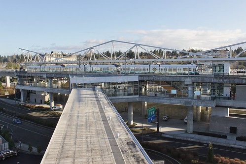 SeaTac/Airport light rail station | by SounderBruce