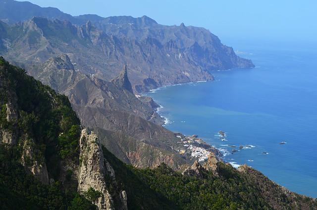 Anaga clifftop, Tenerife