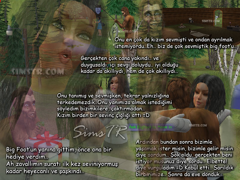 The Sims 2 Bon Voyage Three Lakes Hidden Brow Chandler Big Foot Koca Ayak