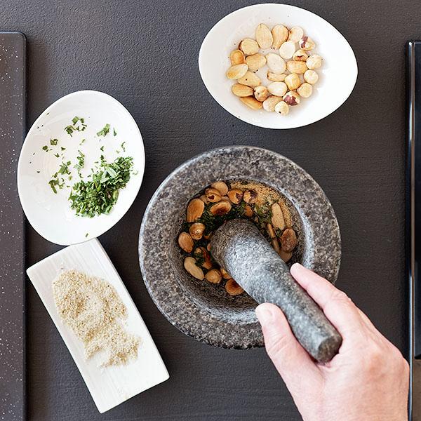Picada para el suquet de peix