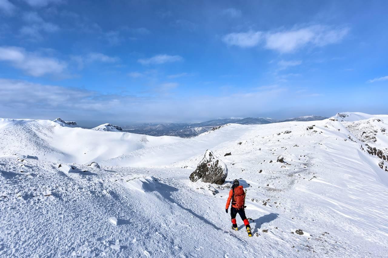 安達太良山 雪山登山