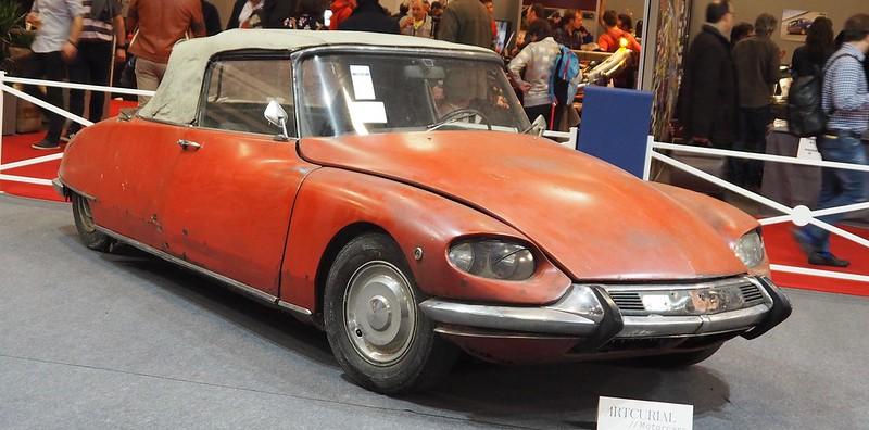 Citroen DS 19 cabriolet, conversion ailes Pichon-Parat 1961  26516132918_3149d3ff82_c