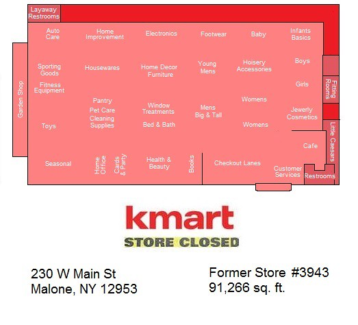 Malone Kmart Map | Thanks to AFB for the store\'s number ----… | Flickr