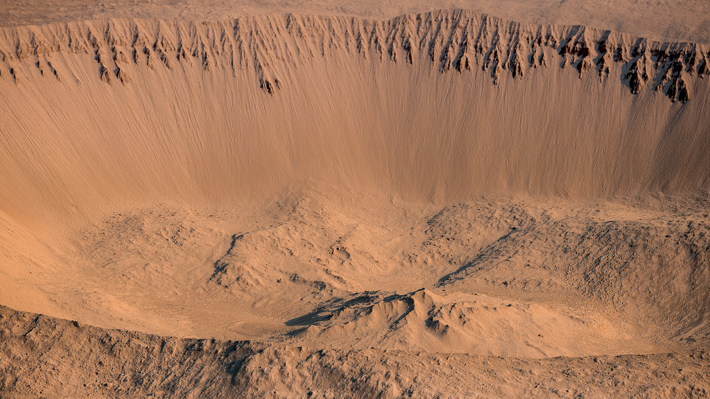 tomini crater on mars rendered using autodesk maya and ado flickr