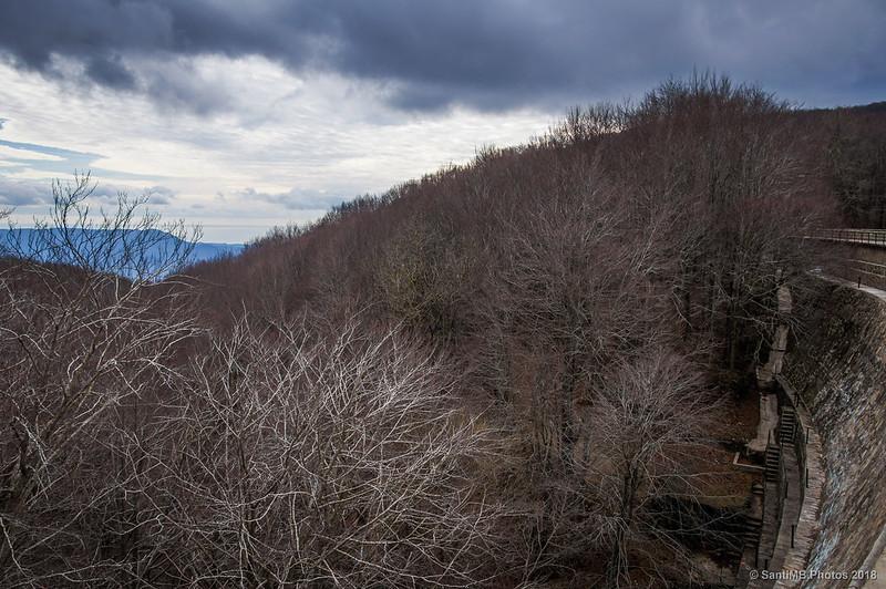 Presa del pantano de Santa Fe de Montseny