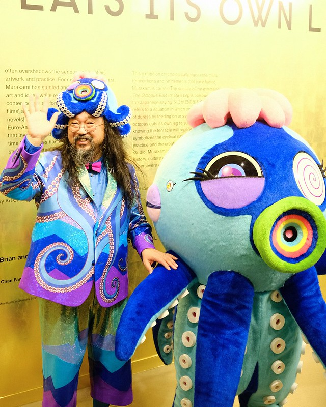 Takashi Murakami | 'The Octopus Eats Its Own Leg' | Vancouver Art Gallery
