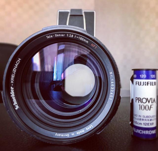 Rolleiflex HFT 180mm f2.8 x provia 100F測試