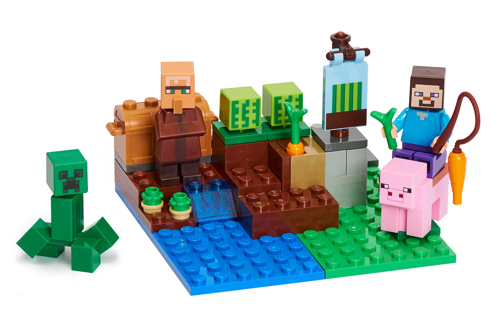 Review 21138 The Melon Farm Brickset Lego Set Guide And Database