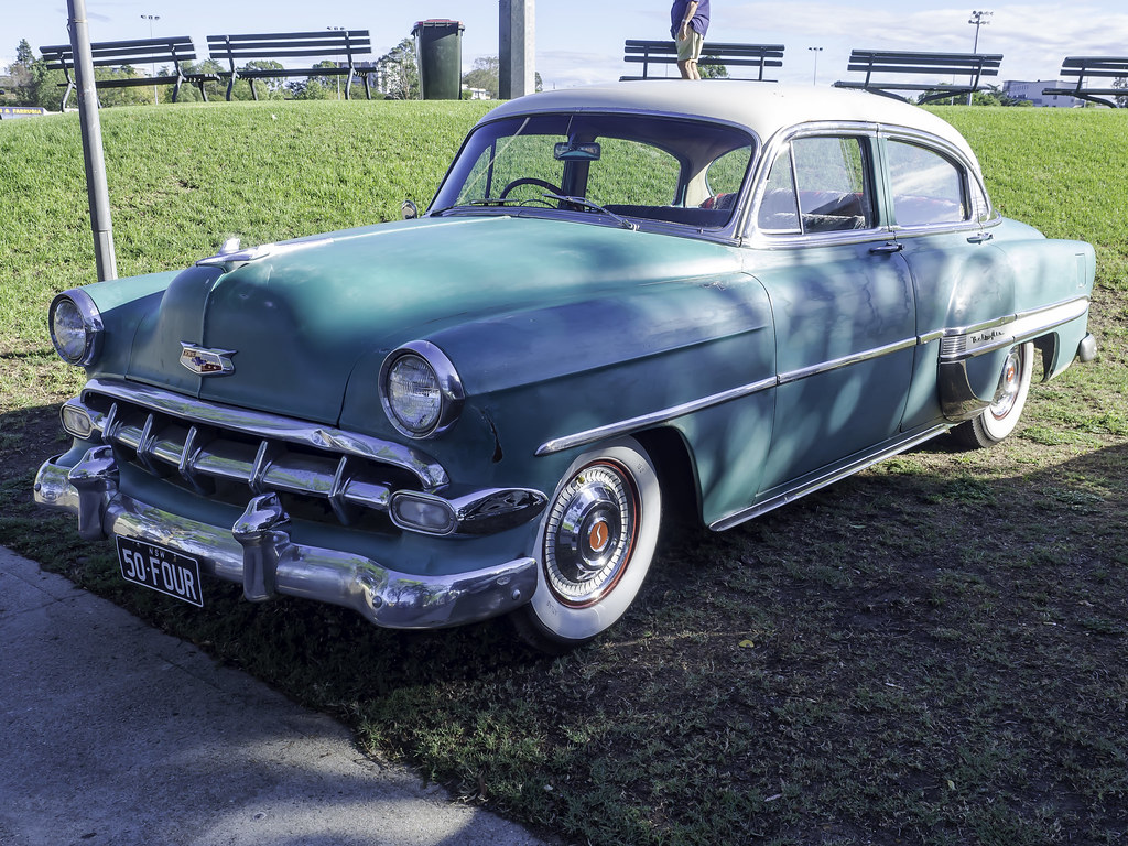 1954 Chevrolet Bel Air Sedan Paceway Cars And Coffee P Flickr Chevy By Paul Leader Paulies Time Off Photography