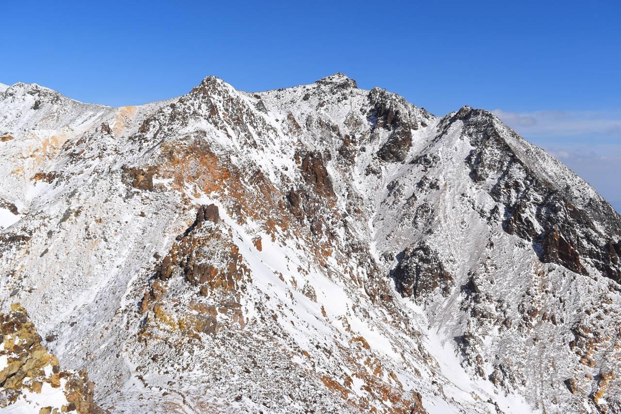 那須岳・剣ヶ峰から朝日岳へ