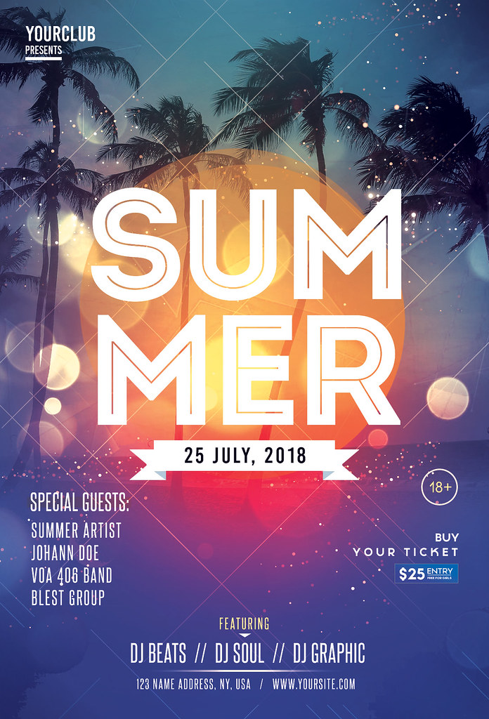 Summer event psd flyer template summer event is a premiu flickr summer event psd flyer template by fidanlmani maxwellsz