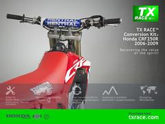 TX RACE™ Conversion Kit® for Honda CRF250R 2006 2007 2008 2009