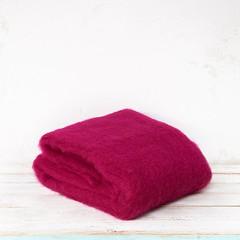 regalos artesanales, manta de mohair de Ezcaray - real fábrica