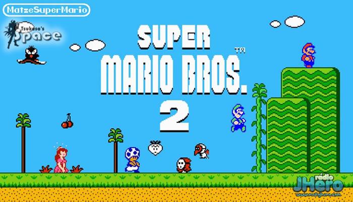 super mário bros 2