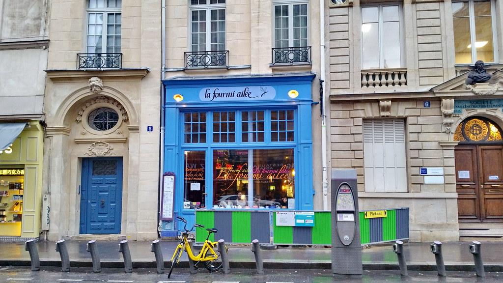 La Fourmi Ailée 91 paris en février 2018 - la fourmi ailée rue du fouarre   flickr