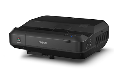 The Epson EH-LS100 has built-in 16-watt speakers so there's no need to connect to an amplifier or separate speakers.