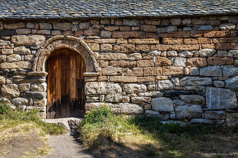 Puerta de Sant Quirc de Taüll
