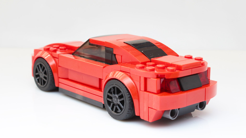 lego speed champions mustang gt moc mod no stickers flickr. Black Bedroom Furniture Sets. Home Design Ideas