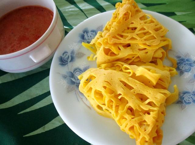 Mak Met Bandong roti jala 2