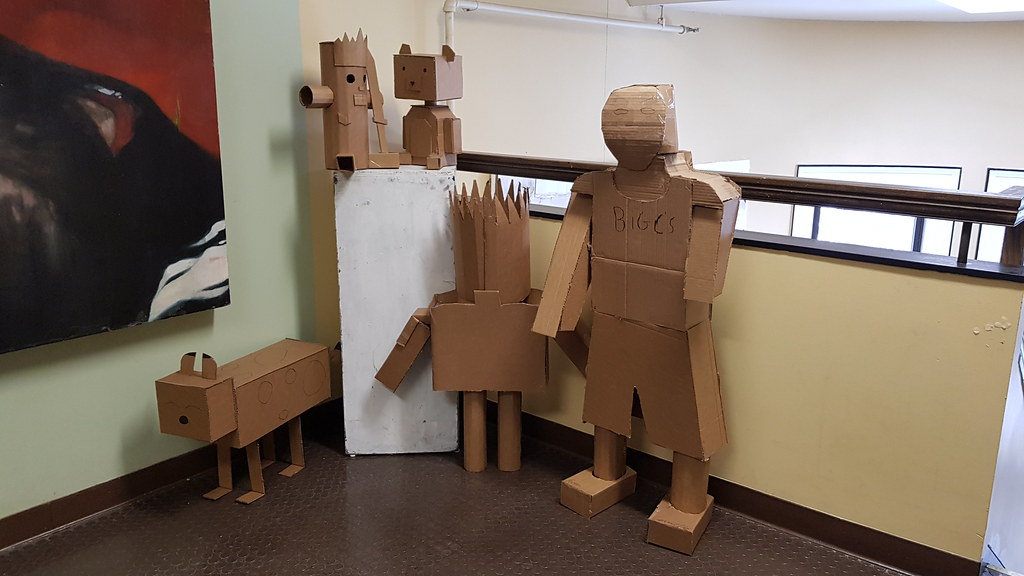 Image result for cardboard creations
