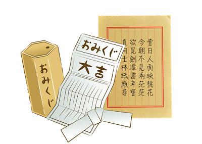 6_籤詩(圖片來源:免授權圖庫)