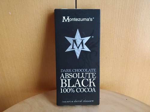Montezuma's Dark Chocolate Absolute Black 100% Cocoa