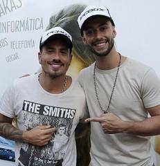 Federico Bal y Paio Rodriguez en evento Delta