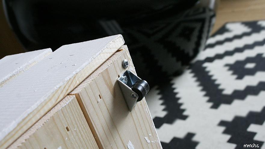 ruedas para cajones de madera