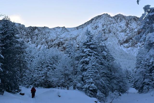 冬の赤岳 日帰り雪山登山