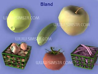 The Sims 2 Seasons Fruits Bland