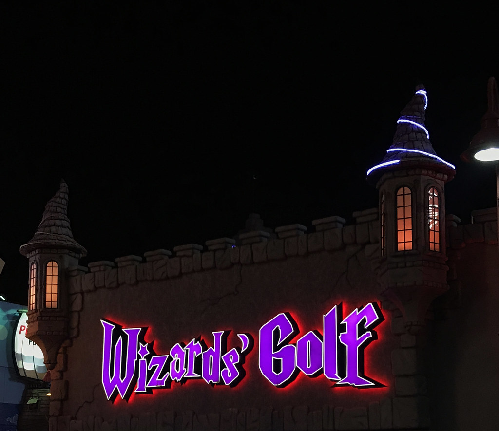 wizards' golf