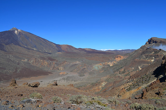 Mount Teide and Guajara, Tenerife