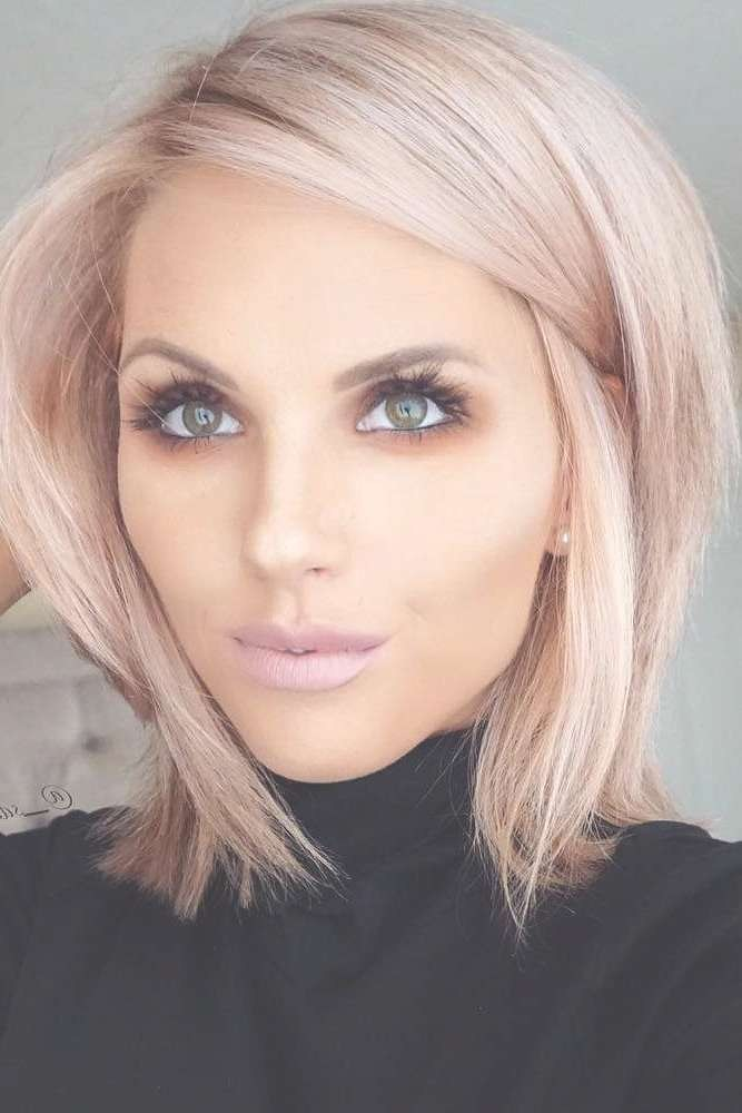 Haircuts Trends 2017 2018 Chic Blunt Bob Hairstyles 226