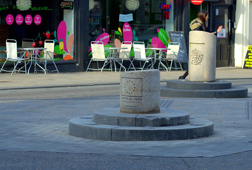 Checking the Fishergate Bollard is still there | by Tony Worrall