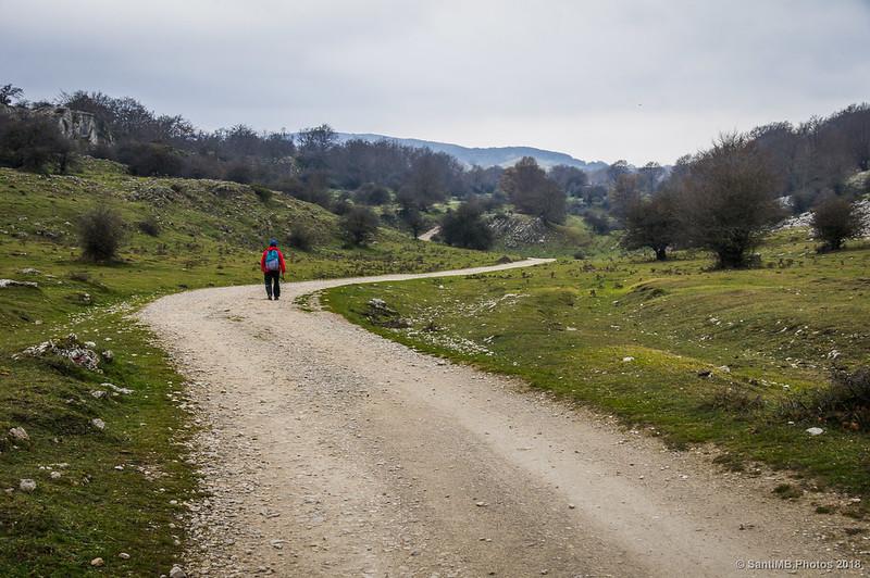 Senda del Pastoreo desde la Venta de Lizarraga