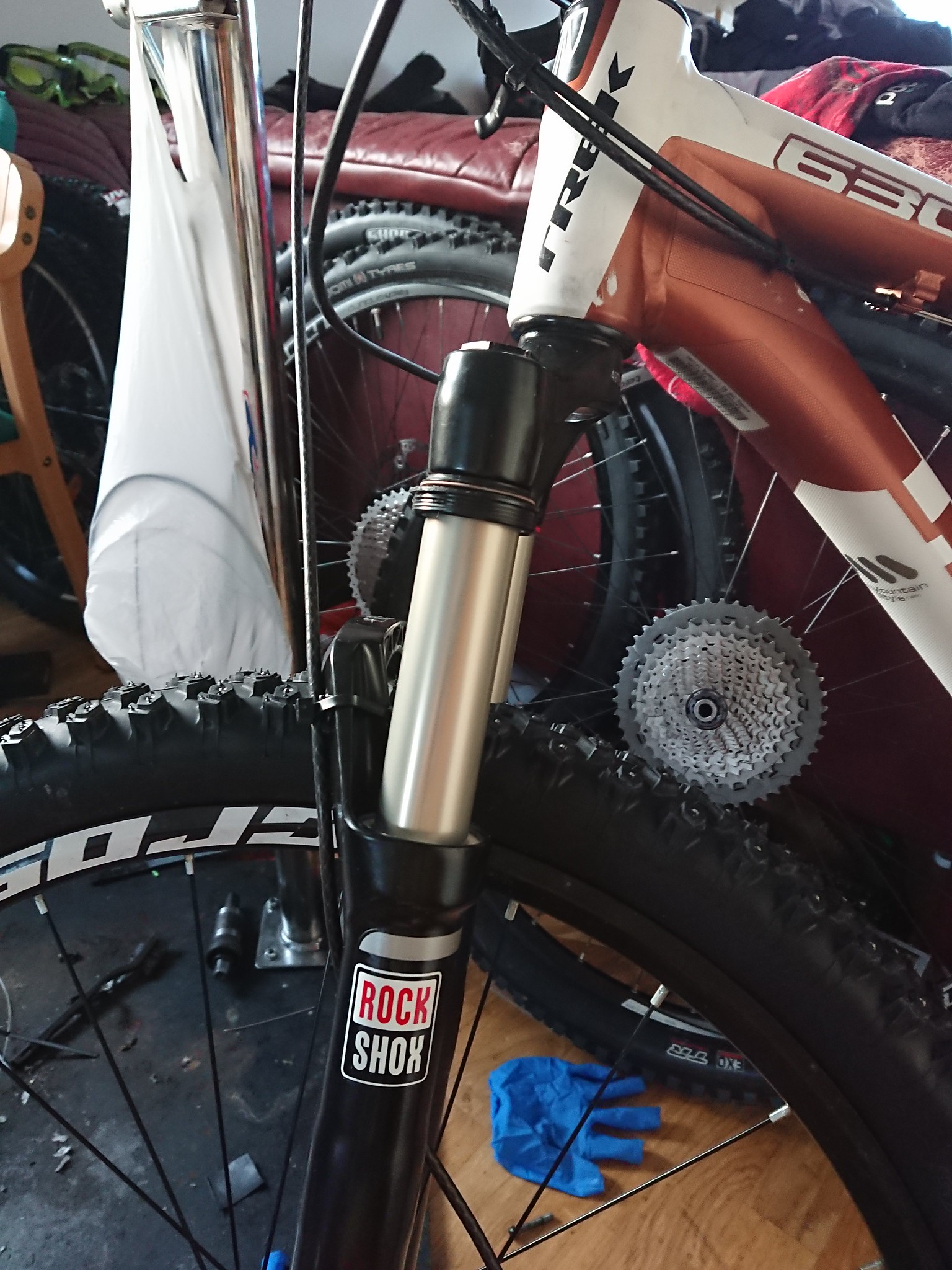 Short term review: Rock Shox Recon Gold TK Solo Air OneLoc