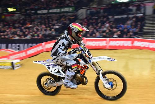 Carl Osterman, Supermini, Arenacross Tour, Sheffield 2018