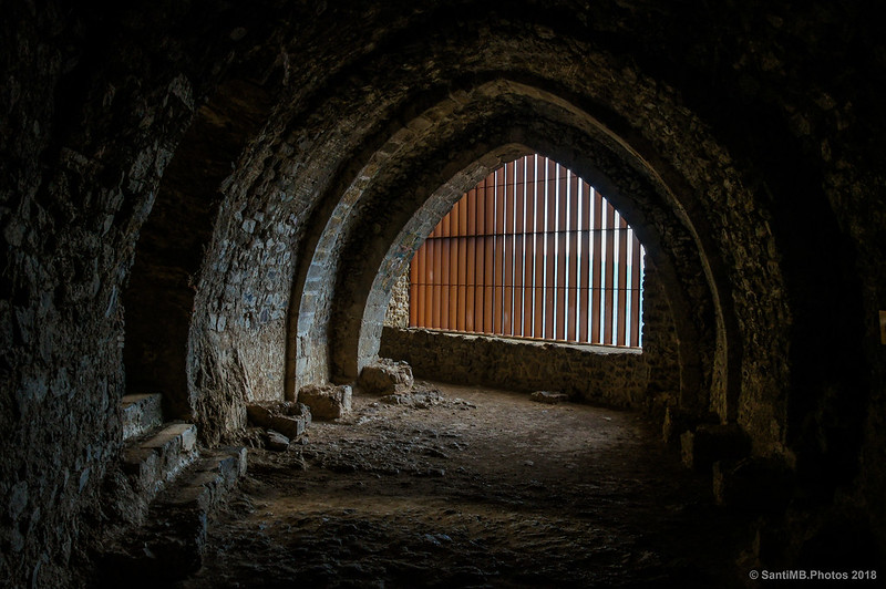 Bodega o Sala gótica del Castell de Montsoriu