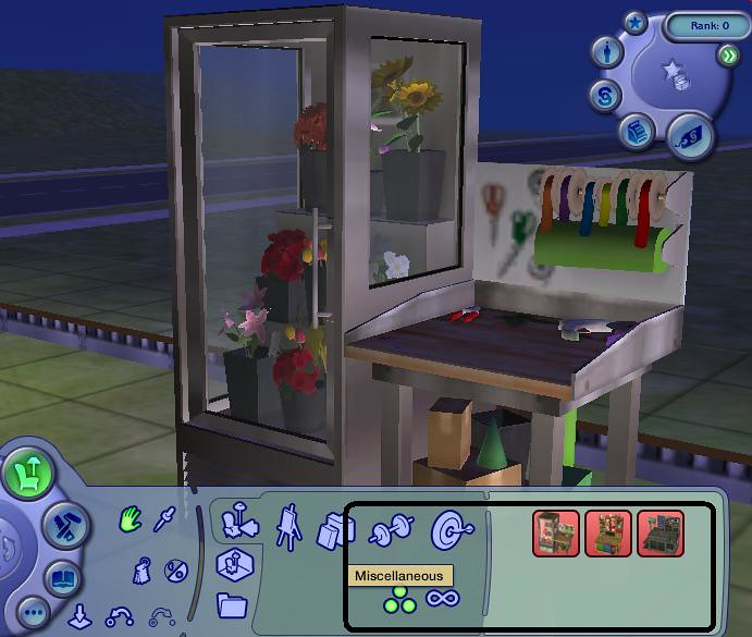 The Sims 2 Open For Business Flower Machine Çiçek Makinesi