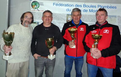 24/02/2018 - Entente Morlaix / Saint Martin : Concours de boules plombées en doublette formée à Morlaix