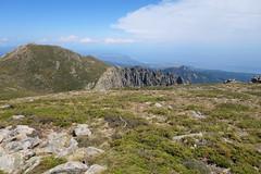 Sommet de Punta di u Furnellu : vue de Punta Muvrareccia (photo Georges Welterlin)